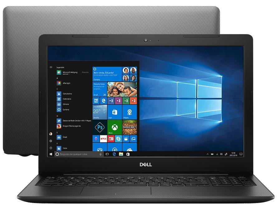 """Notebook Dell Inspiron i15-3583-A30P Intel Core i7 - 8GB 2TB 15,6"""" Placa de Vídeo 2GB Windows 10 - Bivolt"""