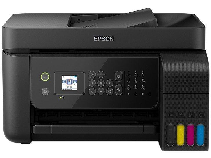 Foto 4 - Impressora Multifuncional Epson EcoTank L5190 - Tanque de Tinta Colorido Wi-Fi USB