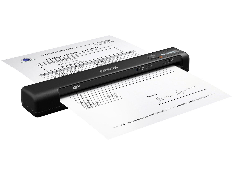 Foto 1 - Scanner Portátil Epson WorkForce ES-60W - Wireless 1200dpi
