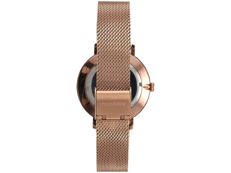 Relógio Feminino Mondaine Analógico - 89011LPMVRE4 Rosé Gold - 2