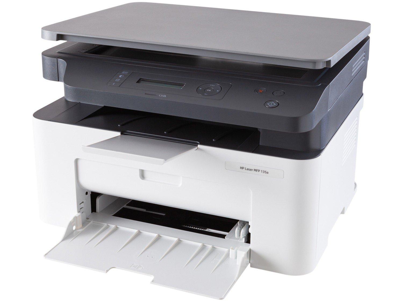Foto 1 - Impressora Multifuncional HP Laser 135A - Preto e Branco USB