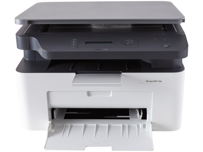 Foto 5 - Impressora Multifuncional HP Laser 135A - Preto e Branco USB