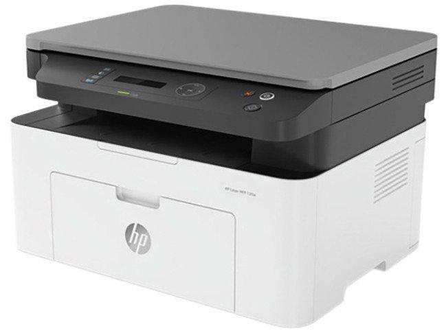 Impressora Multifuncional HP Laser 135W - Preto e Branco Wi-Fi USB - 110 V