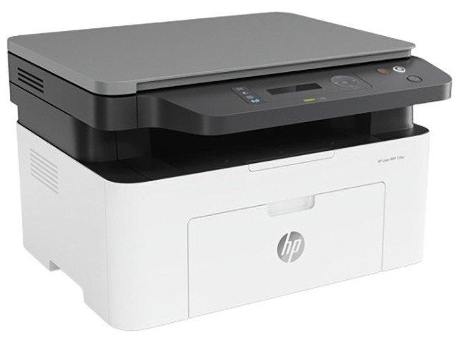 Impressora Multifuncional HP Laser 135W - Preto e Branco Wi-Fi USB - 110 V - 3