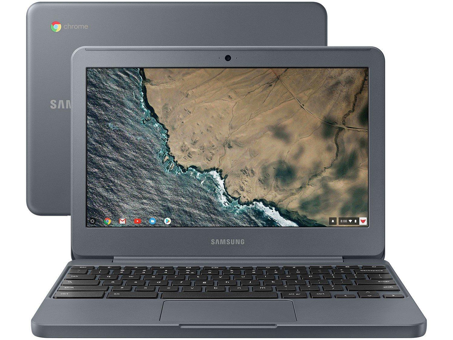 "Notebook Samsung Chromebook XE501C13-AD2BR - Intel Dual Core 4GB eMMC 16GB 11,6"" - Bivolt"