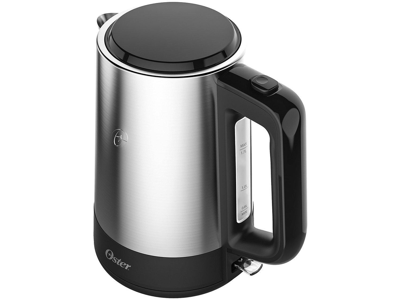 Chaleira Elétrica Oster Breakfast Day Light com Capacidade de 1,7 L – Inox - 220V - 8