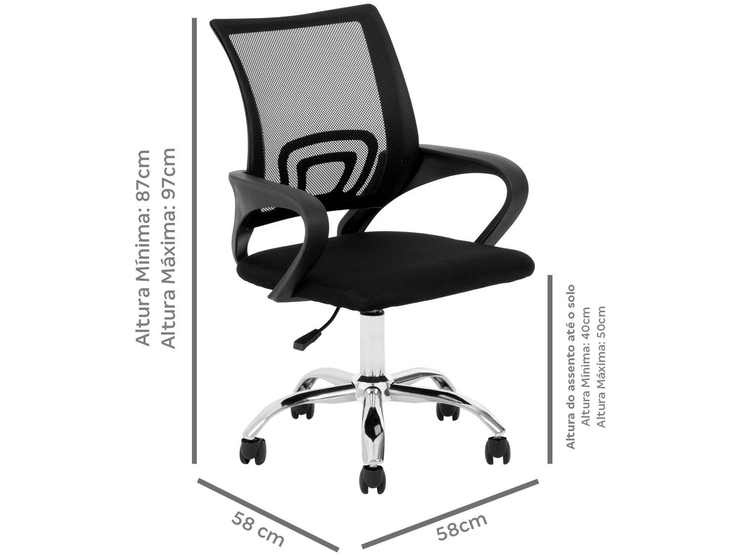 Cadeira de Escritório Diretor Giratória DIR-002 - Nell - 2