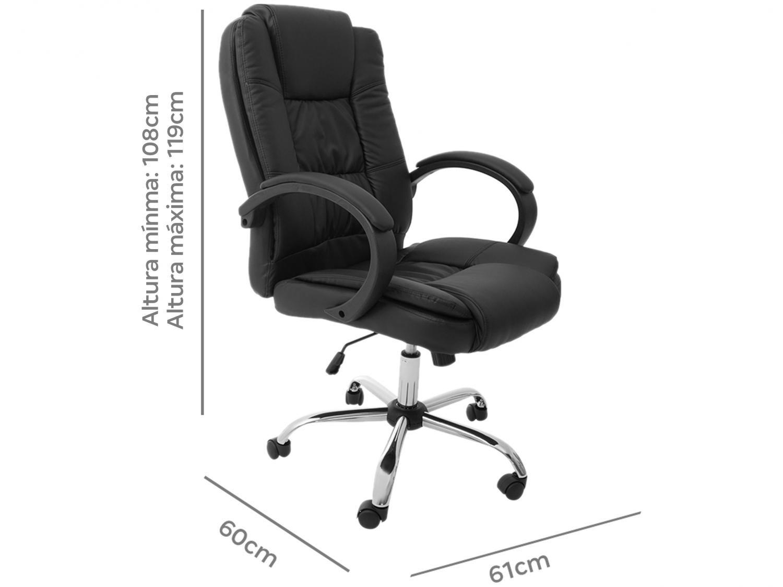 Cadeira de Escritório Presidente - Giratória PRE-002 Nell - 3