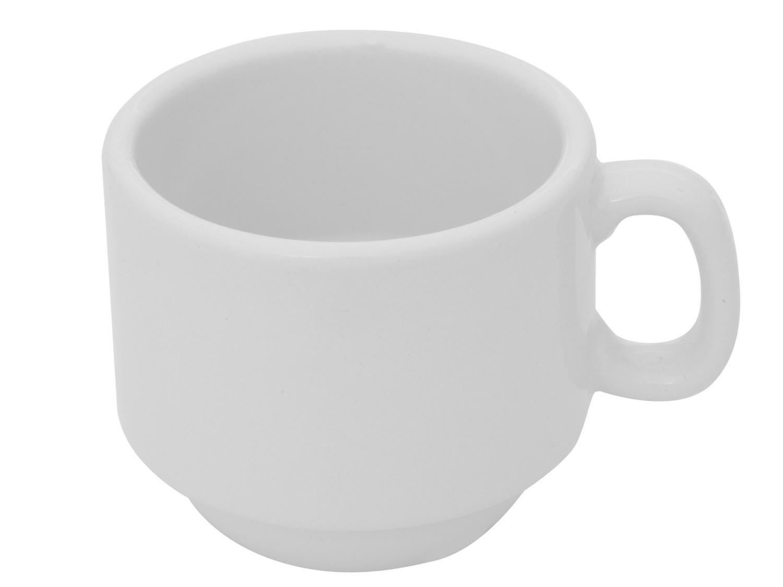 Aparelho de Jantar 20 Peças Porcelarte Cerâmica - Redondo Branco Prime - 2