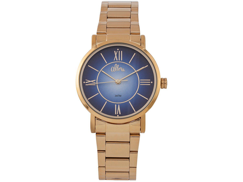 Relógio Feminino Allora Analógico AL2035FOE/K4A - Dourado com Brinco e Pulseira - 3