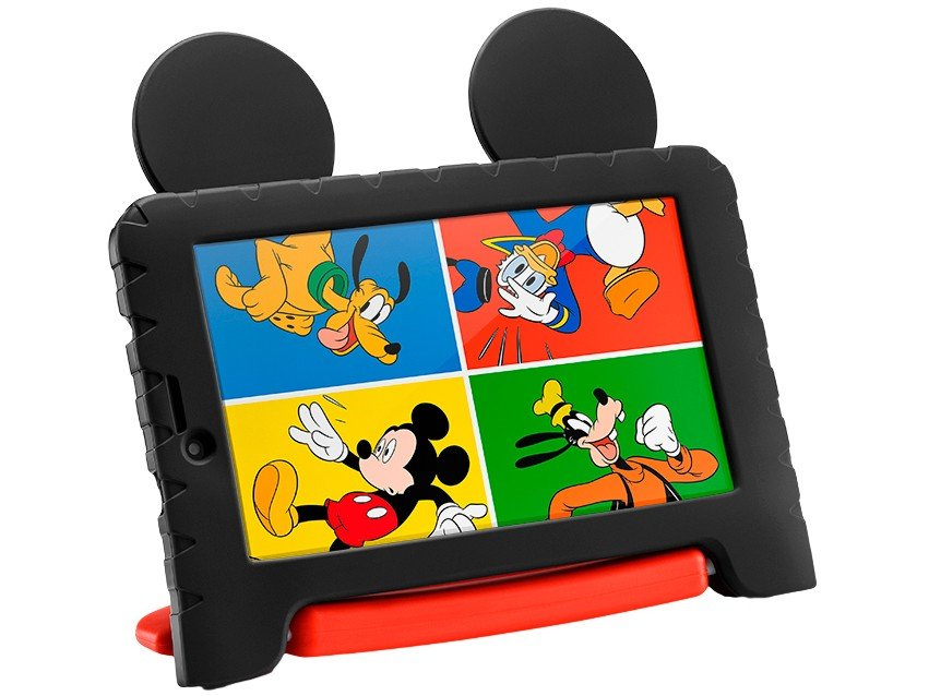"Tablet Infantil Multilaser Mickey Plus com Capa - 16GB 7"" Wi-Fi Android 8.1 Quad Core Câm. 2MP - Bivolt - 2"