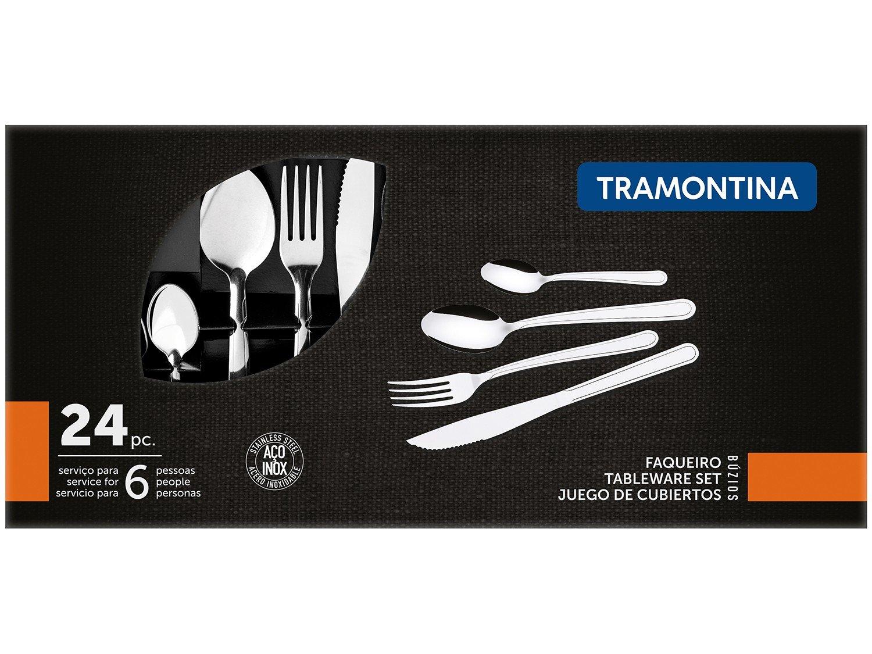 Faqueiro Tramontina Buzios Inox 23799071 - 24 peças