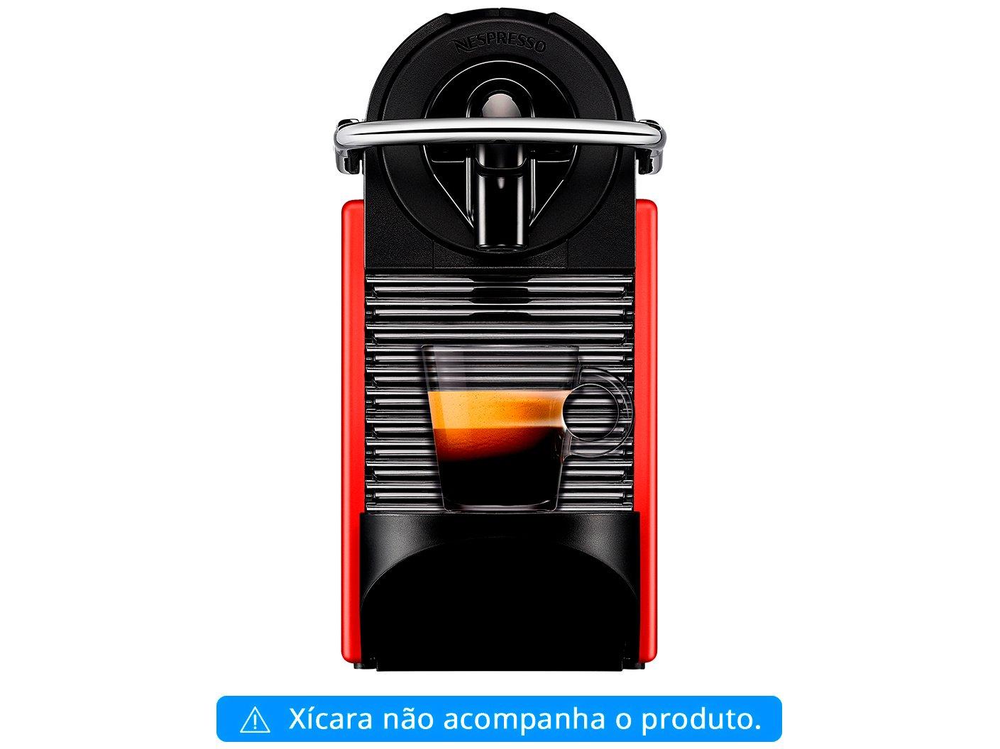 Cafeteira Expresso Pixie Nespresso de Cápsula - Vermelha 19 Bar - 110 V - 2