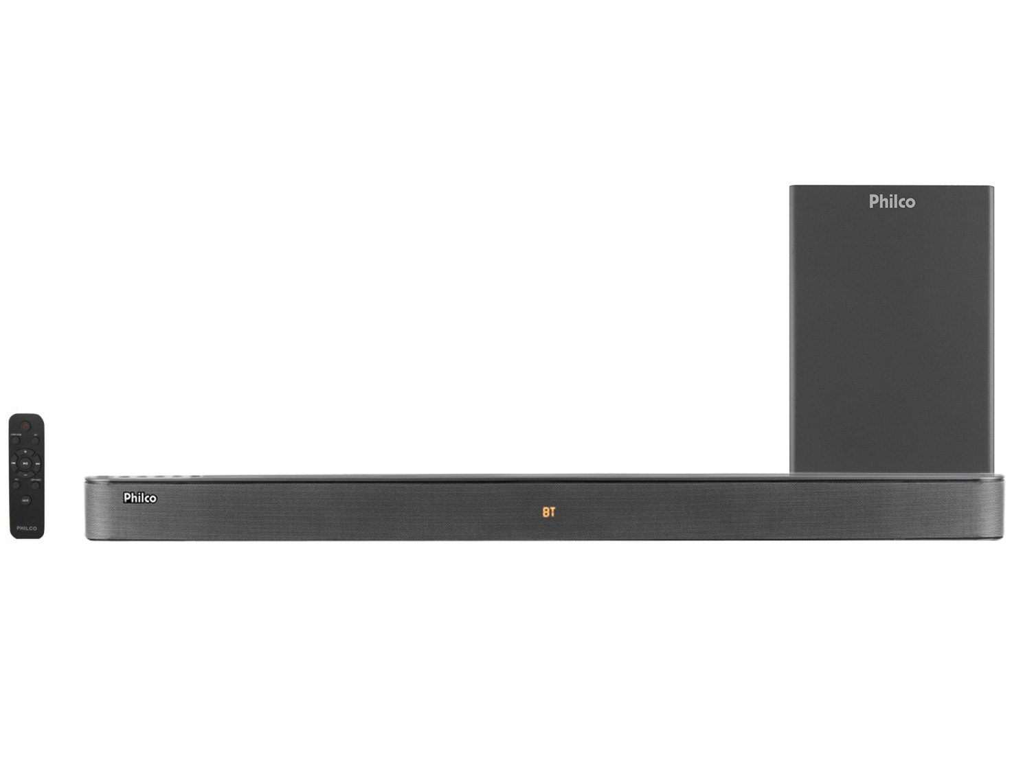 Soundbar Philco com Subwoofer 420W - 2.1 Canais PSB04T - Bivolt