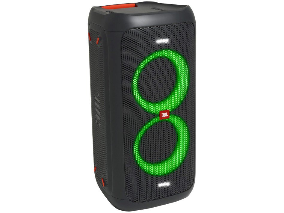 Caixa de Som JBL PartyBox 100 com Bluetooth Luzes LED - 160W RMS - 3