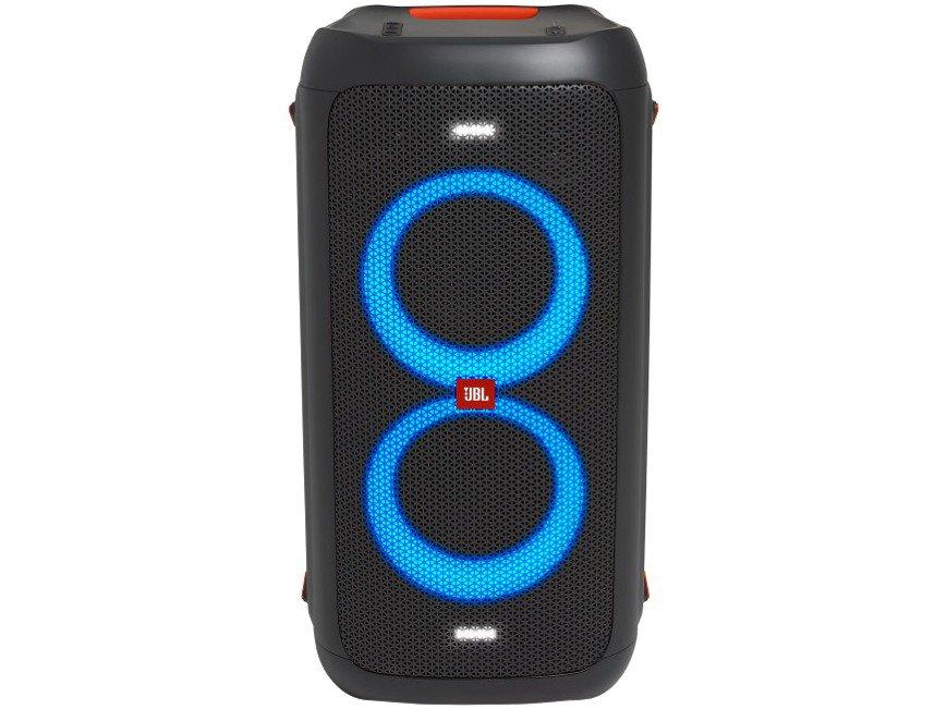 Caixa de Som JBL PartyBox 100 com Bluetooth Luzes LED - 160W RMS - 7
