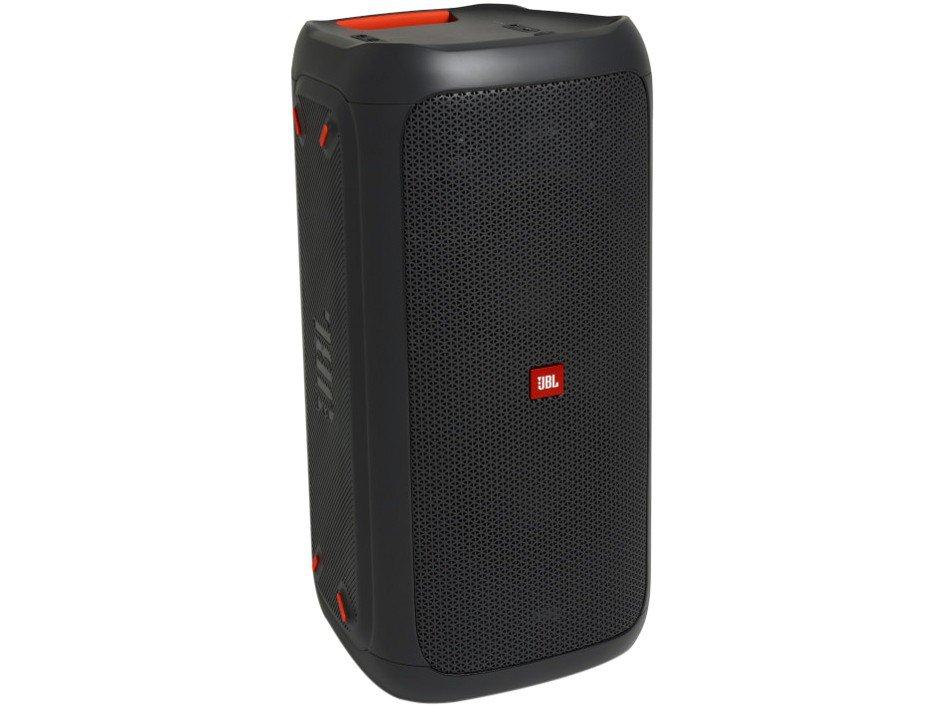 Caixa de Som JBL PartyBox 100 com Bluetooth Luzes LED - 160W RMS - 11