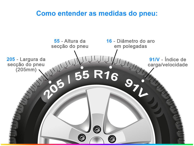 """Pneu Aro 16"""" Michelin Primacy 4 205/55 R16 - 91V Primacy 4 - 1"""