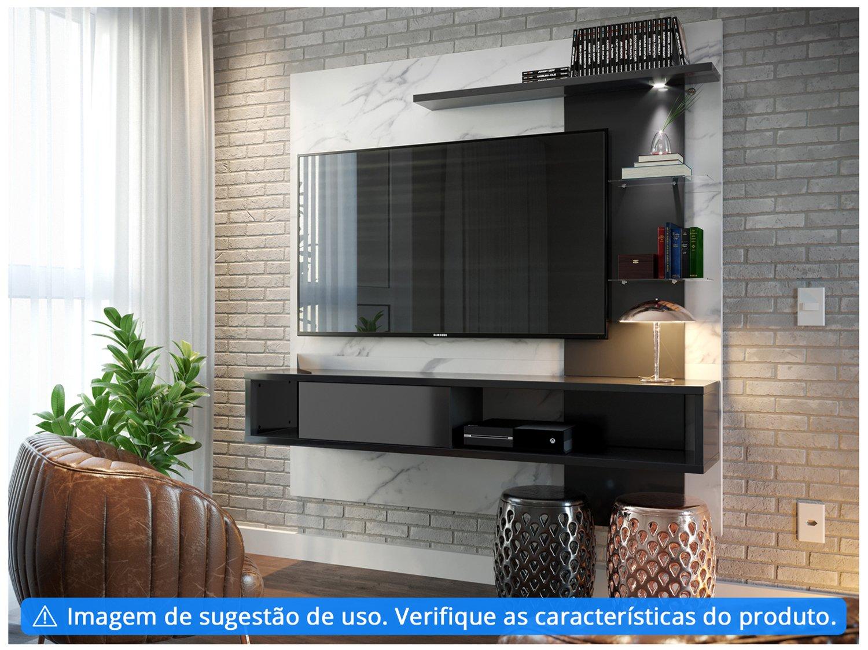 """Painel para TV até 55"""" 3 Prateleiras Colibri - Home Atlântico - 2"""
