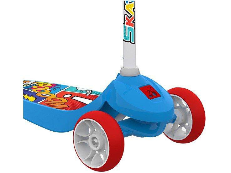 Patinete 3 Rodas Skatenet Kid - Bandeirante - 2