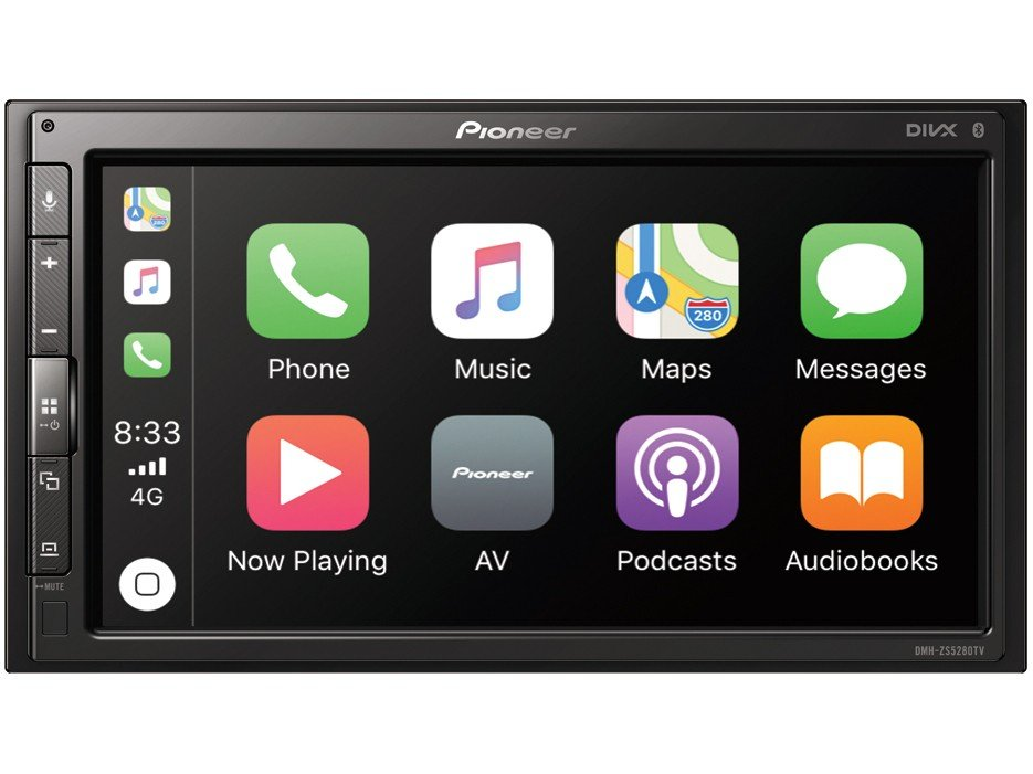 """Central Multimídia Pioneer DMH-ZS5280TV - Bluetooth Touch 6,8"""" USB"""