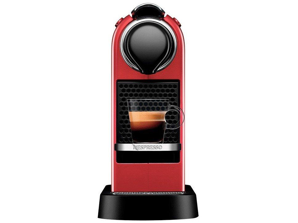 Máquina de Café Nespresso Citiz C113 com Kit Boas Vindas – Vermelha - 110V