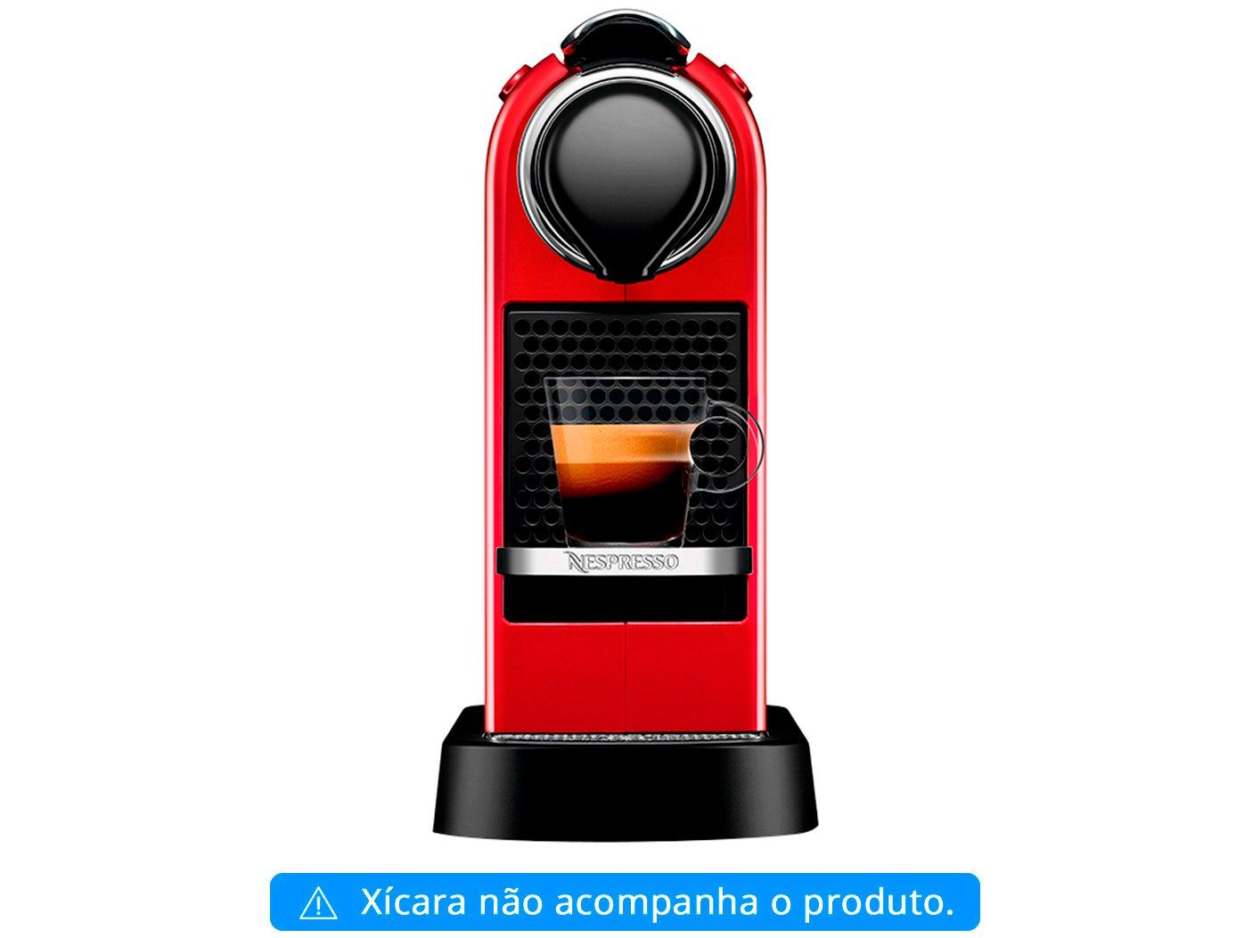 Máquina de Café Nespresso Citiz C113 com Kit Boas Vindas – Vermelha - 110V - 4