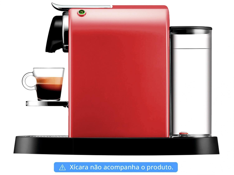 Máquina de Café Nespresso Citiz C113 com Kit Boas Vindas – Vermelha - 110V - 8