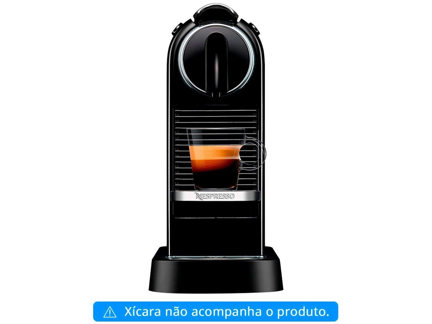 Máquina de Café Nespresso Citiz D113 com Kit Boas Vindas – Preta - 110V - 4