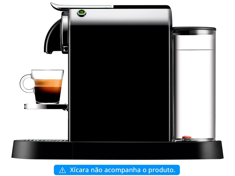 Máquina de Café Nespresso Citiz D113 com Kit Boas Vindas – Preta - 110V - 8
