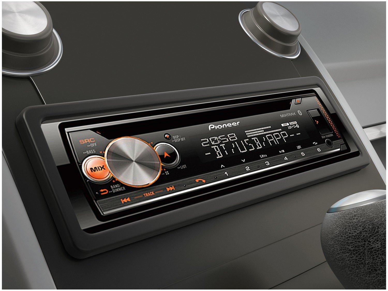 Som Automotivo Pioneer CD Player Bluetooth - USB Auxiliar DEH-X5000BR - 8