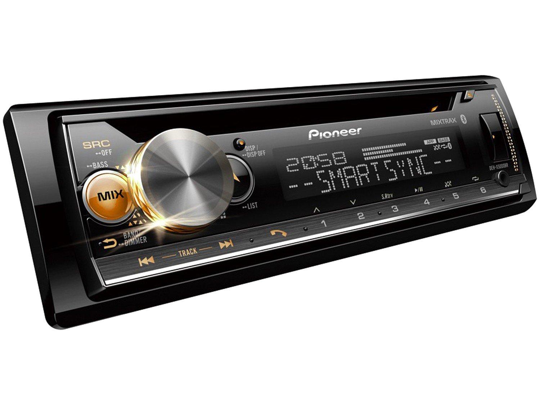 Som Automotivo Pioneer CD Player Bluetooth - USB Auxiliar DEH-X5000BR - 9