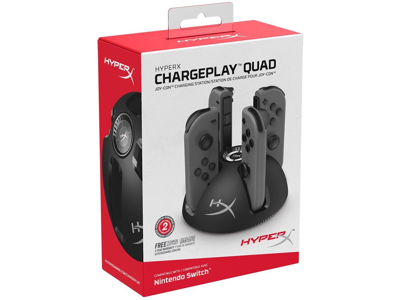 Foto 4 - Carregador de Controle Nintendo Switch - HyperX Chargeplay Quad