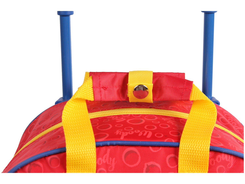 Mochila Infantil Escolar Tam. G - Dermiwil Pica Pau Vermelha - 3