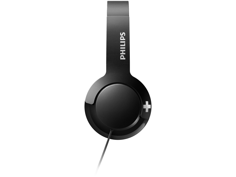 Headphone Phillips Bass+ SHL3075BK/00 - com Microfone Preto - 8
