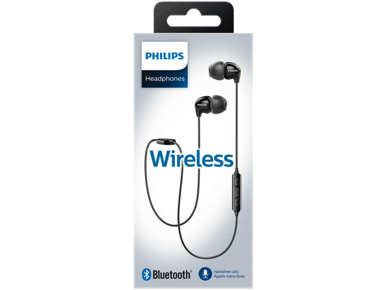 Fone de Ouvido Bluetooth Philips Upbeat - SHB3595BK/10 Intra-auricular com Microfone Preto - 5