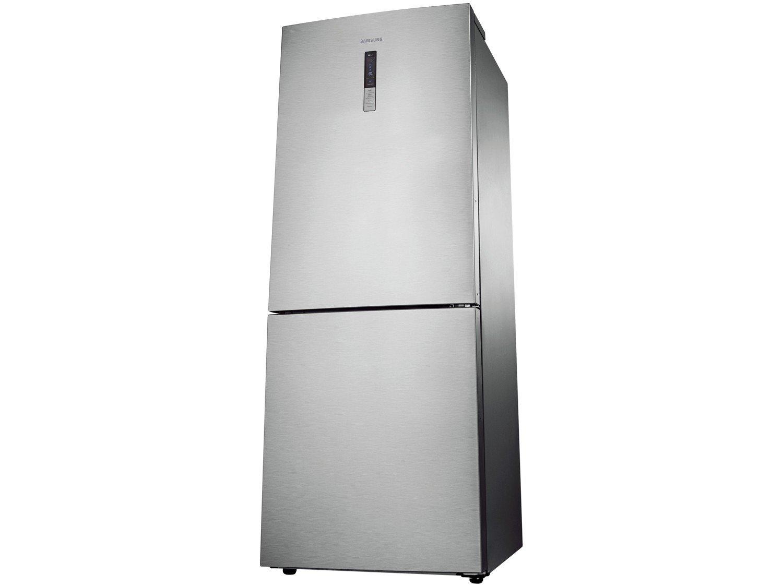 Refrigerador Samsung RL4353RBASL Frost Free Inverse Barosa com Compartimento para Vinho Inox - 435L - 110v