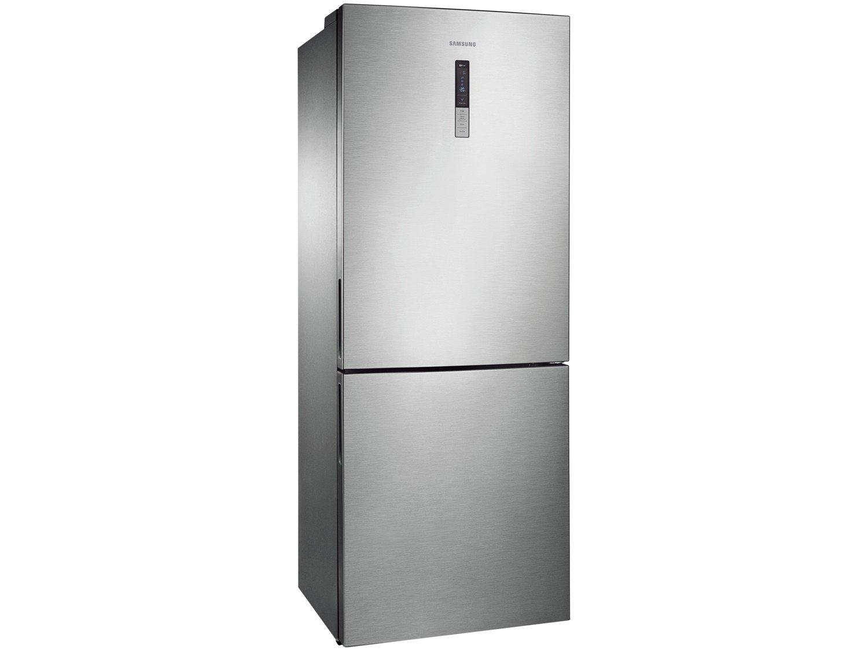 Refrigerador Samsung RL4353RBASL Frost Free Inverse Barosa com Compartimento para Vinho Inox - 435L - 110v - 8