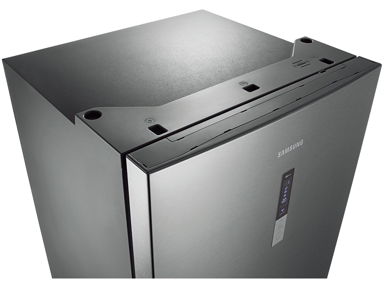 Refrigerador Samsung RL4353RBASL Frost Free Inverse Barosa com Compartimento para Vinho Inox - 435L - 110v - 12