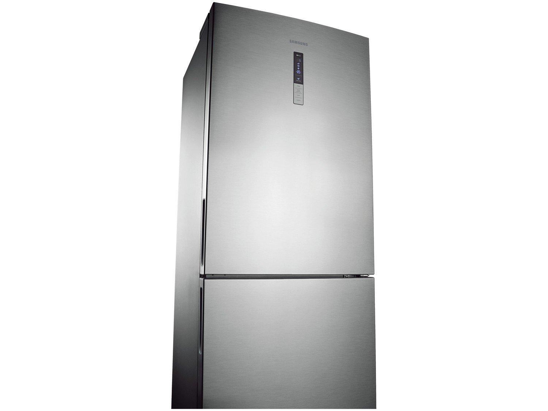 Refrigerador Samsung RL4353RBASL Frost Free Inverse Barosa com Compartimento para Vinho Inox - 435L - 110v - 16