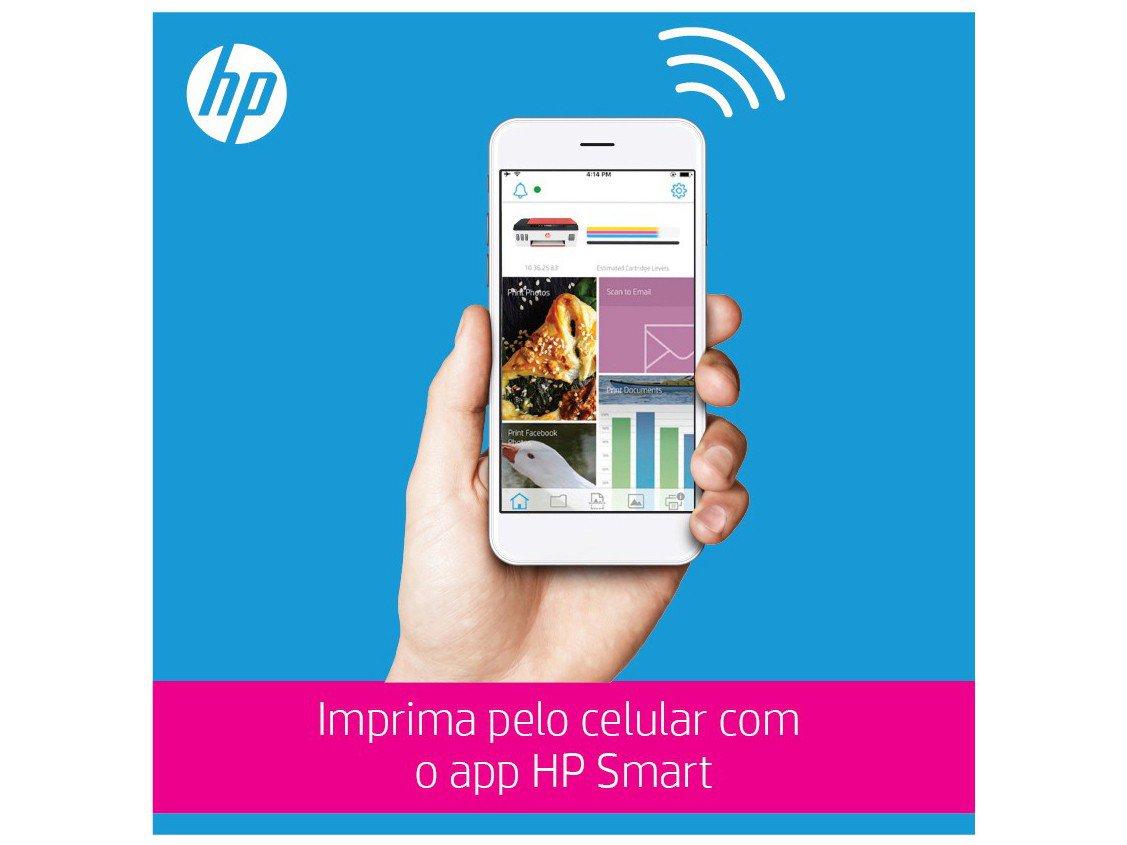Foto 7 - Impressora Multifuncional HP Smart Tank 514 - Tanque de Tinta Colorido Wi-Fi