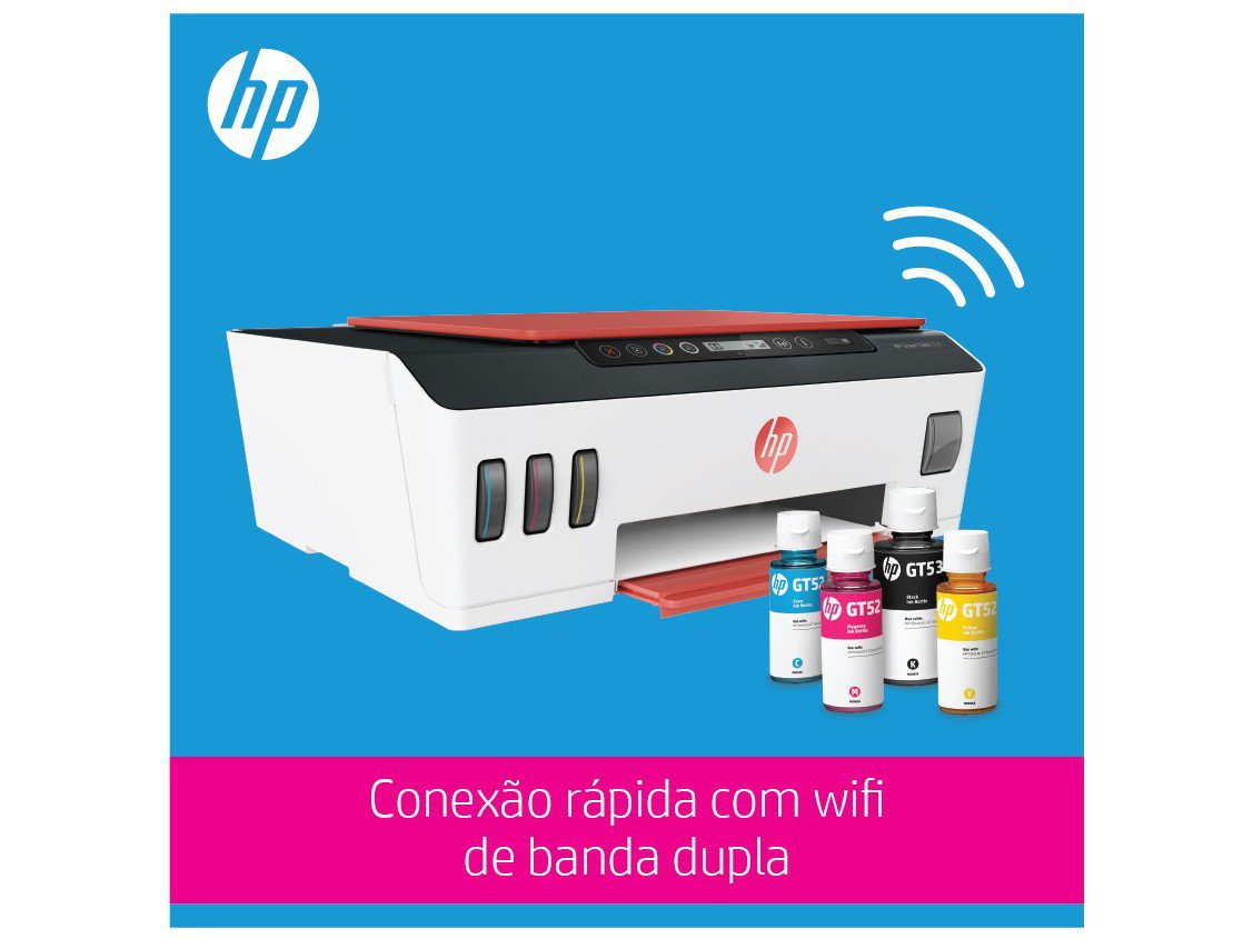 Foto 8 - Impressora Multifuncional HP Smart Tank 514 - Tanque de Tinta Colorido Wi-Fi