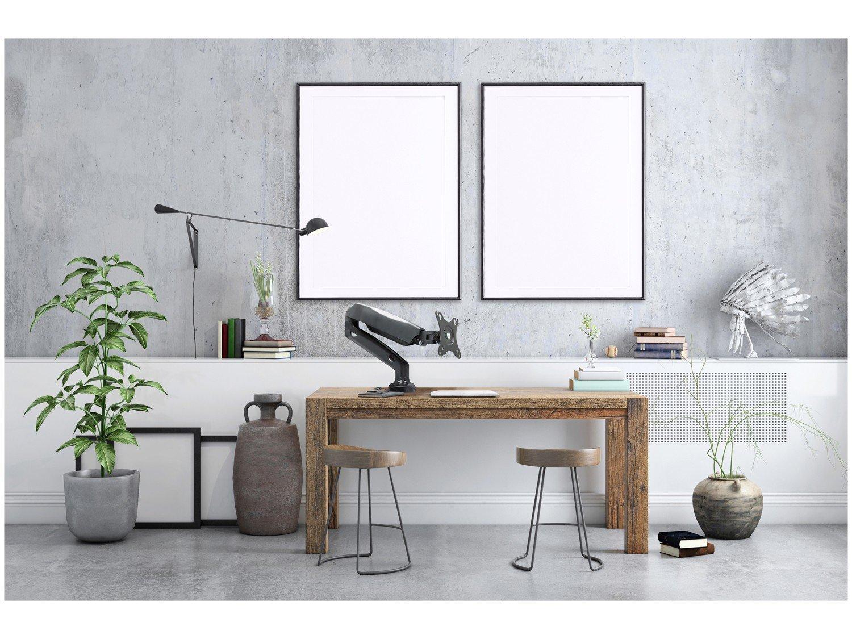 """Suporte para Monitor de Mesa Articulado - LCD LED até 27"""" ELG F80N - 1"""