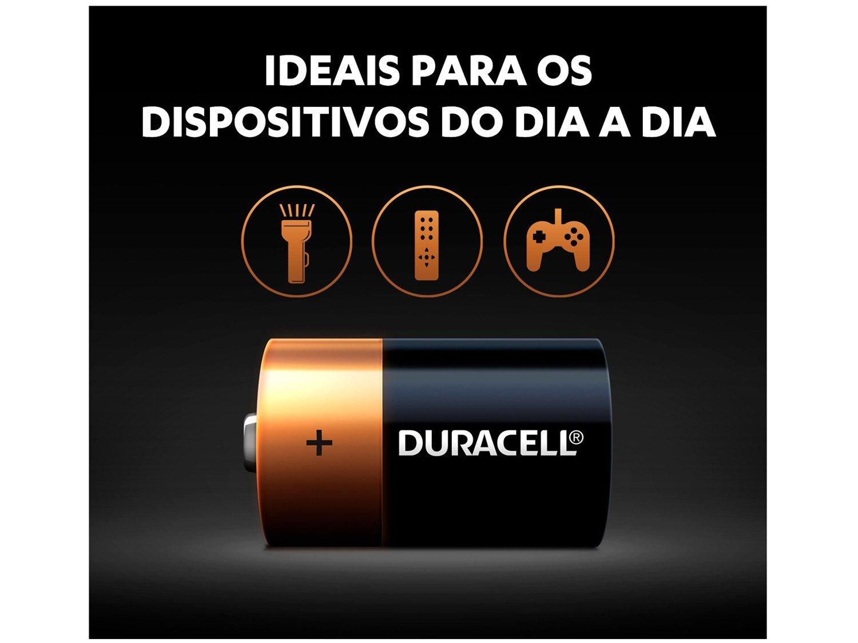 Pilha D Alcalina 4 Unidades - Duracell - 3