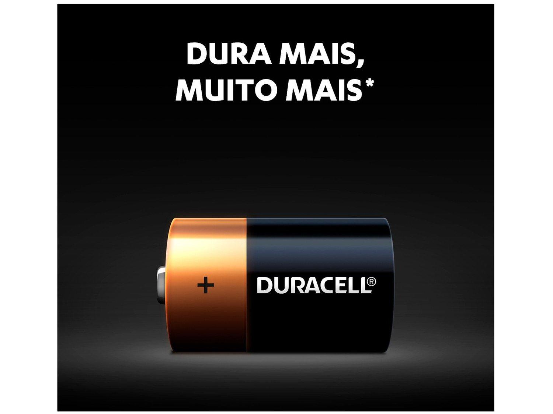 Pilha D Alcalina 4 Unidades - Duracell - 4