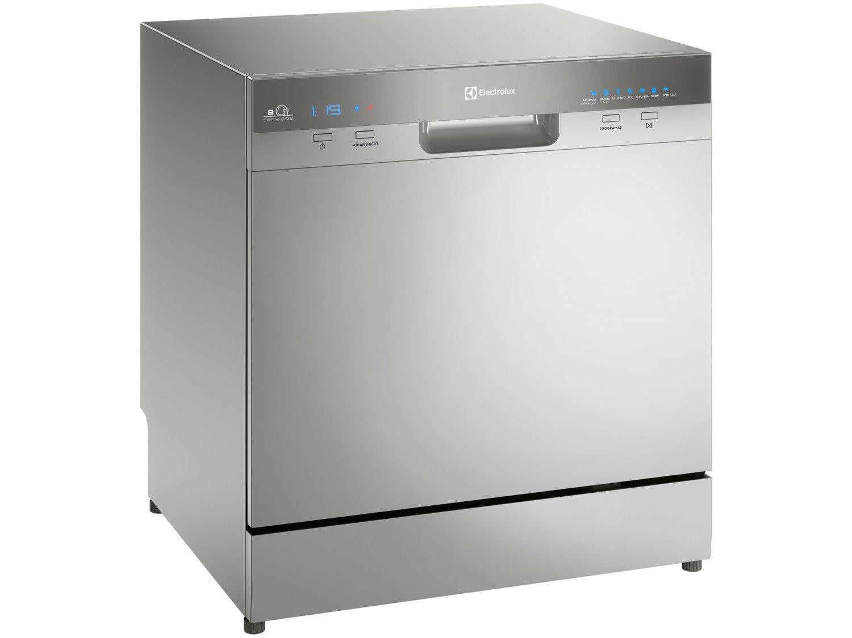 Lava-Louças Electrolux LL08S 8 Serviços – Platinum - 220v - 3