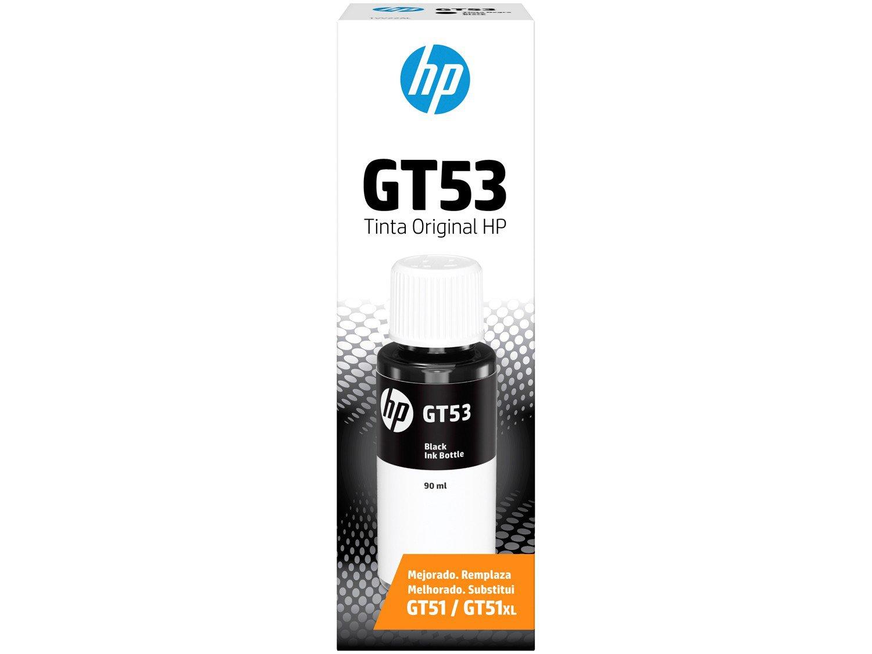 Garrafa de Tinta HP GT53 Preto - Original