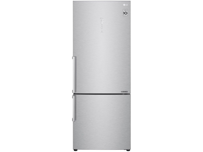 Refrigerador LG Bottom Freezer Universe Refresh com Moist Balance Crisper™ e Compressor Linear GC-B659BSB Aço Escovado – 451L - 110V
