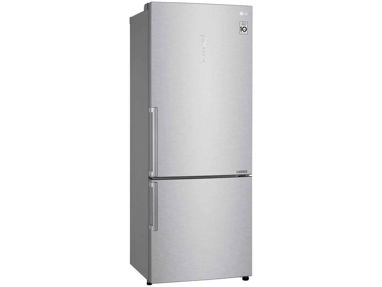 Refrigerador LG Bottom Freezer Universe Refresh com Moist Balance Crisper™ e Compressor Linear GC-B659BSB Aço Escovado – 451L - 110V - 4