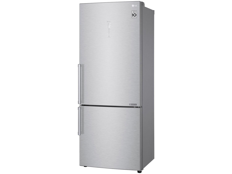 Refrigerador LG Bottom Freezer Universe Refresh com Moist Balance Crisper™ e Compressor Linear GC-B659BSB Aço Escovado – 451L - 110V - 8